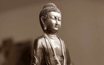 Le temple de la Mahabodhi à Bodhgaya